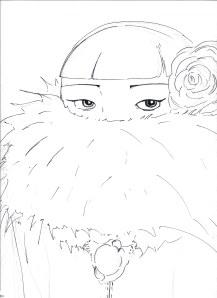girl sketch 1